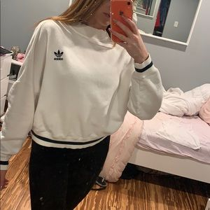 Adidas sweater with zipper